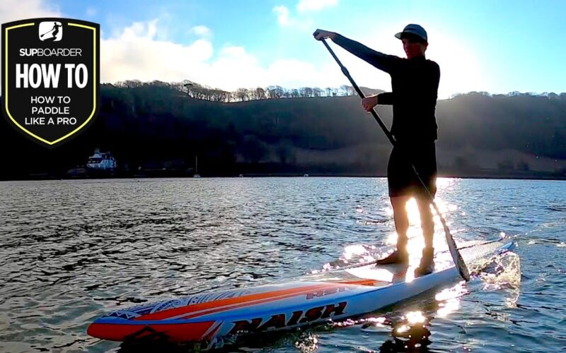 How To Paddle Like A Pro / Improving Your SUP Stroke